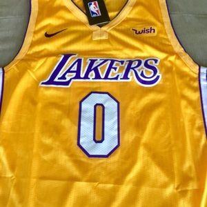 new arrival 78de7 17270 Kyle Kuzma Gold Lakers Jersey NWT